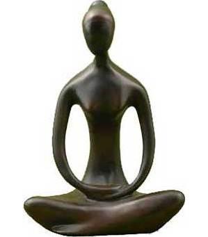 "Yoga Goddess 12"" Statue"