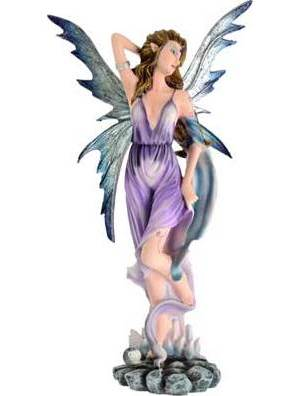 "Elemental Fairy Wind 12"" Statue"