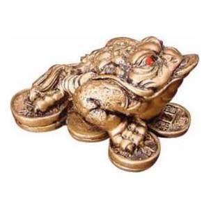 """Money Frog 1 1/2"""" Statue"""