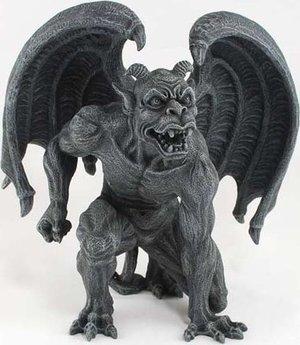 "Gargoyle Guardian 6"" Statue"