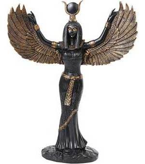 Egyptian Isis Statue