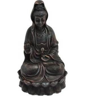 """Kuan Yin 5 1/2"""" Statue"""