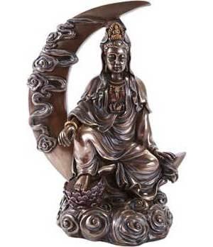 """8 1/4"""" Kuan Yin Statue"""
