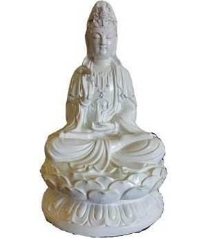 """11"""" Kuan Yin Statue"""