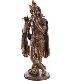 """10"""" Krishna Statue"""