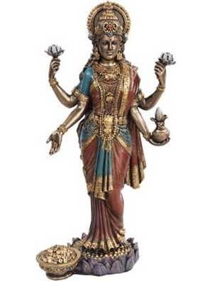 "Lakshmi 10"" Statue"