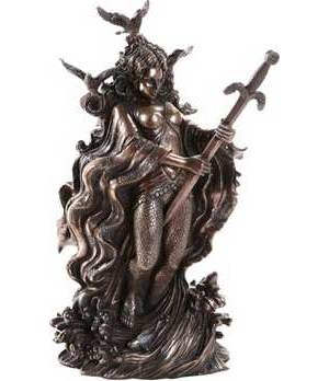 "9"" Lady of Lake Statue"