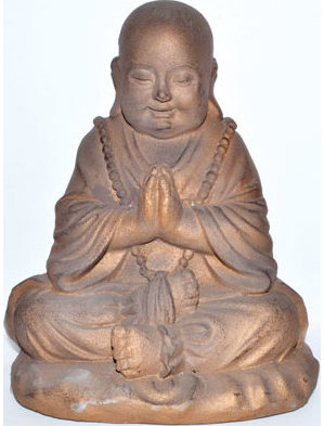 "10"" Monk Praying"