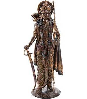 "9 3/4"" Rama Statue"
