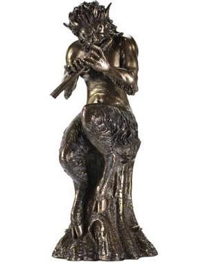"Satyr 9 1/2"" Statue"