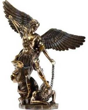 "St. Michael 10"" Statue"