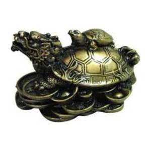 "Money Turtle 2 1/2"" Statue"