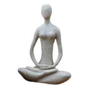 "8"" Lotus Yoga Goddess Statue"