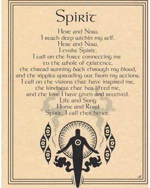 Spirit Evocation Poster