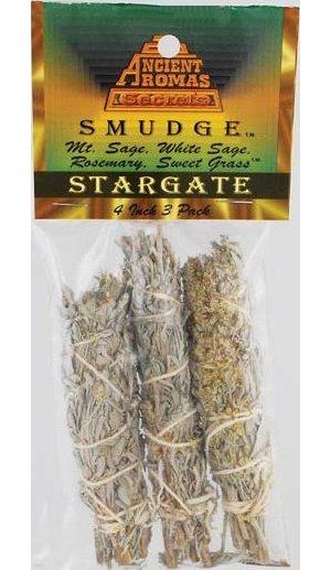 "Stargate Smudge Stick 3pk 4"""