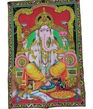 """Ganesha Tapestry 30"""" x 40"""""""