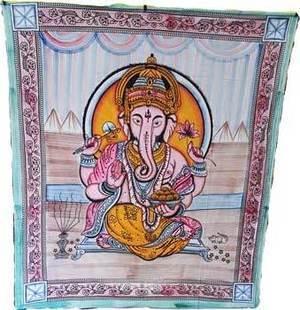 "Ganesh Tapestry 84"" x 96"""