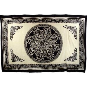 "Celtic Knot Tapestry 72""x108"""