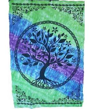 "Tree of Life Tapestry 58"" x 82"""