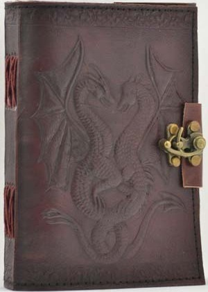 Double Dragon Leather with Latch