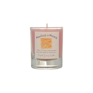 Manifest a Miracle Soy Votive Candle