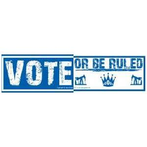 Vote Or Be Ruled