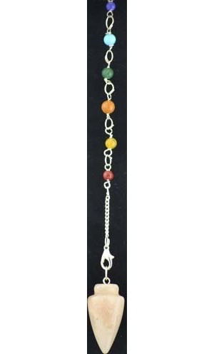 Moonstone 7 Chakra Pendulum