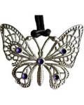 Butterfly with Purple Spots