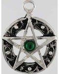 Celtic Knot Pentagram Amulet