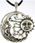 Sun and Moon Windblown Amulet