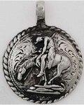 Spirit Rider Arrowhead amulet