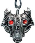 Viking Wolf Head amulet