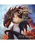 2018 Alchemy Gothic Calendar by Llewellyn