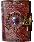 Stone Eye Leather with Latch