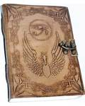 "5"" x 7"" Eye of Horus leather w/ Latch"