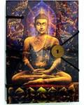 """Buddha journal 4 1/2"""" x 6 1/2"""" handmade parchment"""