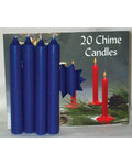 Dark Blue Chime Candle 20pk