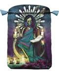 """6"""" x 9"""" Santa Muerte Tarot Bag by Llewellyn"""