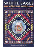 White Eagle Medicine Wheel (dk & bk) by Eliana Harvey
