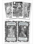 Yggdrasil Norse Divination cards dk & bk by Halldorsson & Hauksdottir