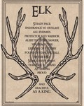 Elk Prayer Poster
