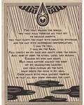Rain Prayer Poster