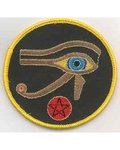 """Eye Of Horus Sew-On Patch 3"""""""