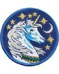 "Unicorn Iron-On Patch 3"""