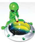 """4 1/4"""" Alien Galaxy ashtray"""