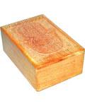 """4"""" x 6"""" Hamsa Hand wood Box"""