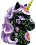 Purple & Black Unicorn bank