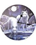 "11 1/2"" Winter Wolfs clock"