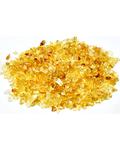 1 lb Citrine tumbled chips 2-5mm