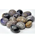 1 lb Agate, Grape tumbled stones